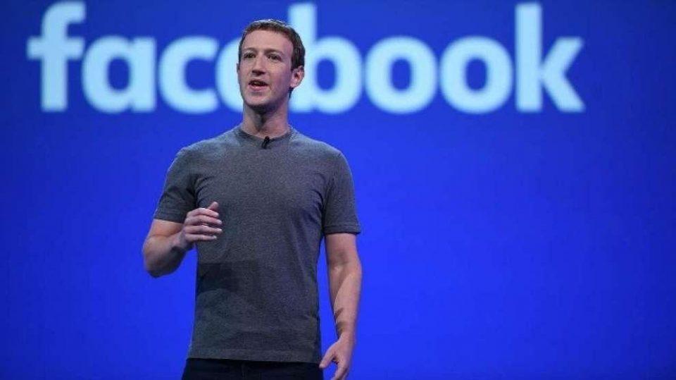 Mark Zucherberg inventore di Facebook